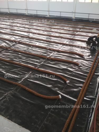 """Конкурное поле с """"нижним поливом"""", Конно-спортивный комплекс Мартин"""